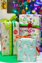 personalized christmas wrapping paper